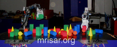 MRISAR's Robotic Arm exhibit kits.