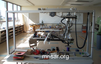 MRISAR's Rail Guided Robotic Arm Exhibits kits! We have been designing and fabrication them since 1991.