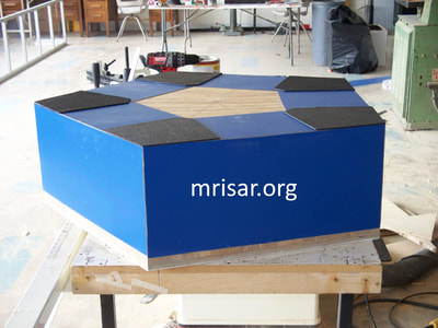 Interactive Science Exhibit; Super Photonic Pentiductor Exhibit, designed and fabricated by MRISAR. We have been making them since 1993.