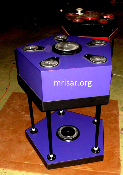 Interactive Science Exhibit; Pentiductor Exhibit, designed and fabricated by MRISAR. We have been making them since 1993.