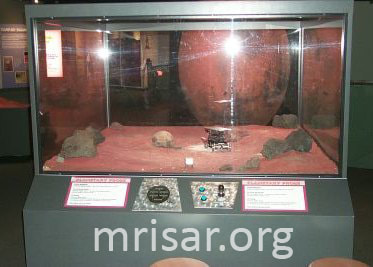 MRISAR's Planetary Probe Robot Kit that was incorporated into a NASA Funded Exhibition at Bishop Museum, Hawaii in 2000. They built their own case and put our components in it. The exhibit is still functioning smoothly!