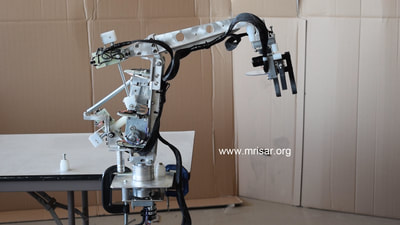 MRISAR fabricating  Robotic Arm exhibits.