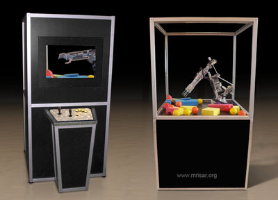 ​MRISAR's Telepresence 5 Finger Robotic Arm Exhibit Component Kit (build your own case)