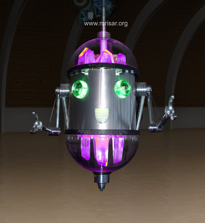 Robotic Exhibit; MRISAR's Chibi-chan; Rail Robot Assistant
