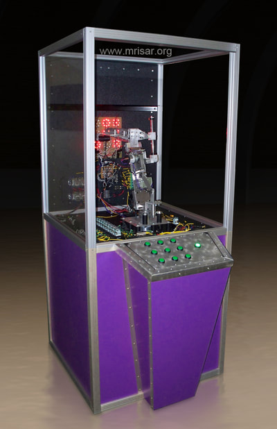 Cybermatrix: Tic-Tac-Toe Robotic Exhibit