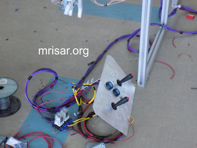 MRISAR's team fabricating our Rail Guided Robotic Arm Exhibits! We have been designing and fabrication them since 1991.