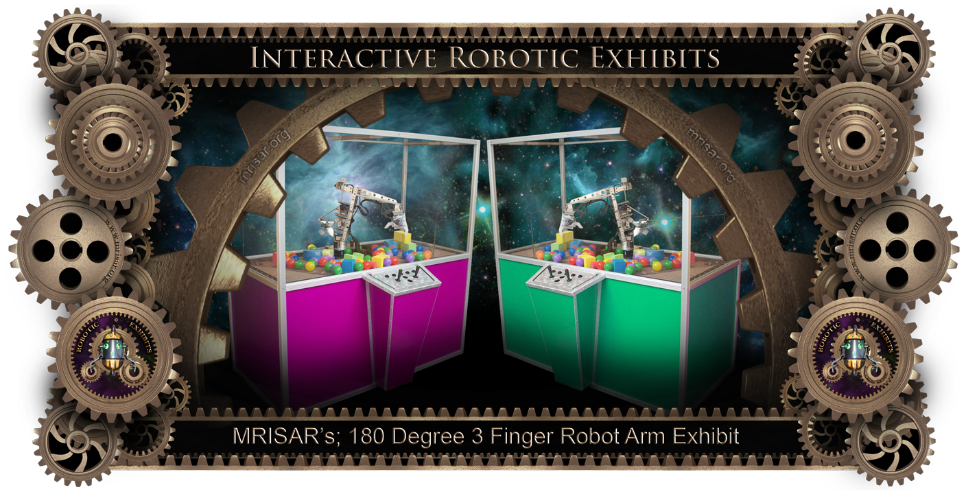 MRISAR's 180 Degree Robot Arm Exhibit
