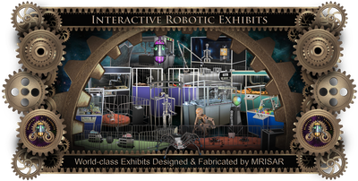 Robots & Robotics Interactive Exhibits. MRISAR's World-class International, Interactive Robotics Exhibit Sales