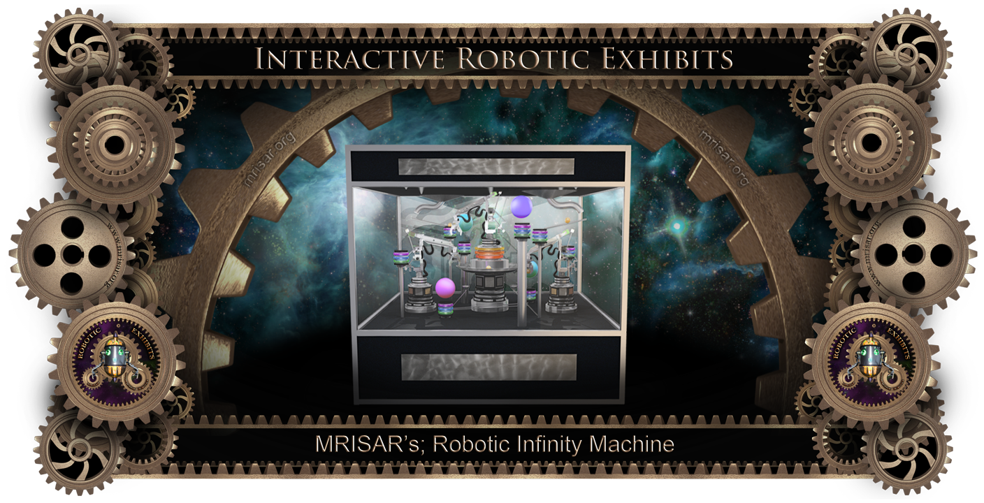 Robotic Moving Sculpture: MRISAR's Robotic Infinity Machine