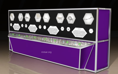 Micro Nano Interactive Exhibit by MRISAR​. This relates to STEM education.