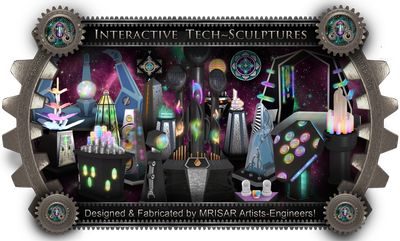 MRISAR's World-class International Interactive Tech Sculpture Exhibit Sales.