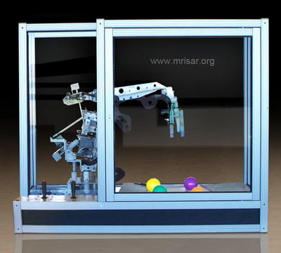 MRISAR's Laboratory Counter-top 3 Finger Robotic Arm
