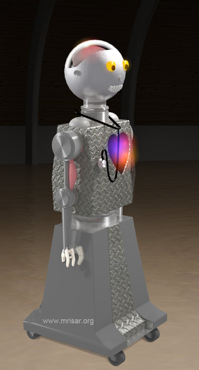 Robotic and Medical Exhibit; MRISAR's Interactive Medical & Health Robot
