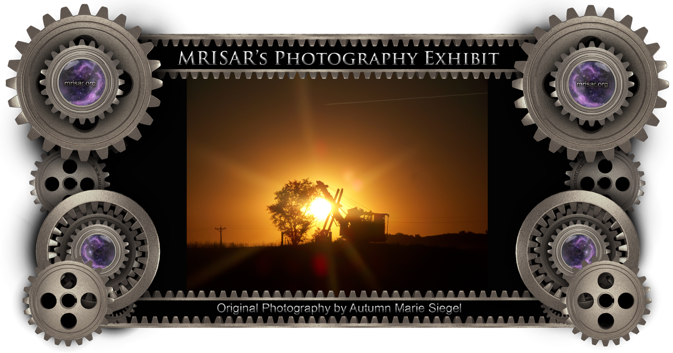 Solar Cast; Original Photography of Autumn Marie Siegel, an awarded, published and exhibited; multi-disciplined artist, photographer, writer and engineer.  She is also a member of MRISAR's R&D Team.  Prints of this piece can be any size, but are 24