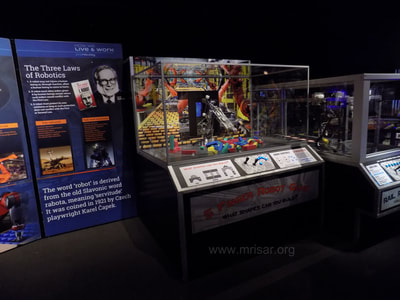 "MRISAR's 5 Finger Robot Arm Kit that was incorporated into the traveling exhibition ""POPnology""."