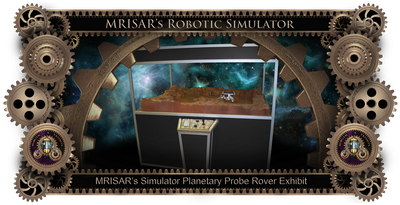 MRISAR's Exhibit Fabrication ​Images for the Simulator Planetary Probe Rover Exhibit!