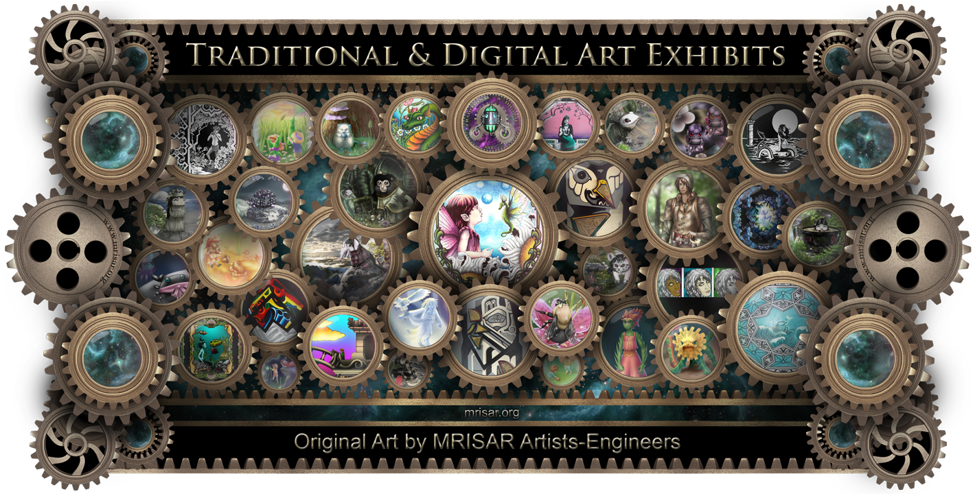 MRISAR's Traditional & Digital Original Art Exhibits