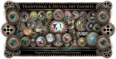 ​MRISAR's Traditional & Digital Art Exhibits; by MRISAR's awarded, published and exhibited Team of artists/engineers!!