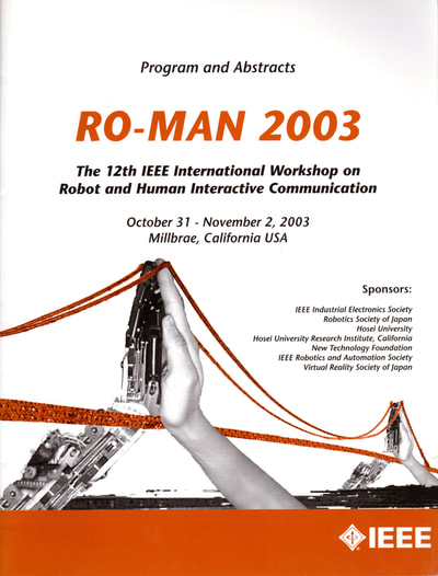 "MRISAR was the only entrepreneurs to be chosen world-wide to give an international presentation and publication of our research and development in rehabilitation robotics before IEEE's ""2003 RO-MAN"" International Conference on Rehabilitation Robotics; (Adaptive Technologies for the disabled). The presentation was in person at the conference. From there it was presented via web and viewed globally at major Universities and other facilities. STRAC II was part of our presentation. It was published by IEEE - RO-MAN 2003, 12th International Workshop on Robot & Human Interactive Communication: Sponsored by: IEEE Industrial Electronics Society, Robotics Society of Japan, Hosei University, Hosei University Research Institute, California, New Technology Foundation. Technical Sponsors: IEEE Robotics and Automation Society, Virtual Reality Society of Japan. With Additional Support from Faculty and Staff of: Stanford University, VA Palo Alto Health Care System, Immersion Corporation, Intuitive Surgical Inc.   Our work in adaptive tech R&D and other subjects is world renowned and awarded, however so far we have had to fund it ourselves."