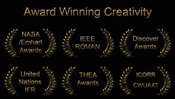 MRISAR's Award Winning Creativity Emblem