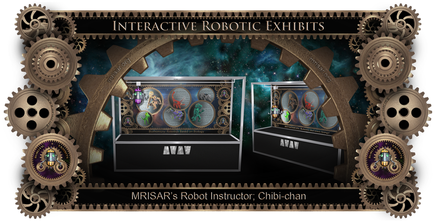 MRISAR's Robot Instructor Chibi-chan Exhibit